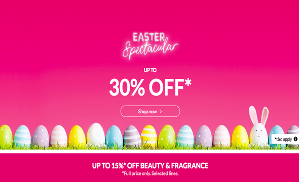 Debenhams Easter